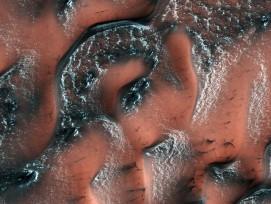 Dünen auf dem Mars.