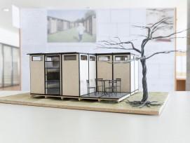 Temporäres Wohnmodul für Festival (Modell)