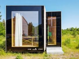 Das «Timber-Prototype-House» ist zurzeit an der Internationalen Bauausstellung (IBA) in Thüringen zu sehen.