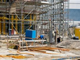 Baustelle Gartenhochhaus Aglaya: Auf dem Suurstoffi-Areal in Risch-Rotkreuz ZG entsteht neuer Wohnraum.