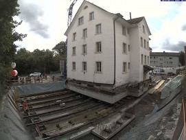 Hausverschiebung Villa Blumenthal Kilchberg ZH