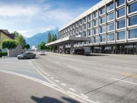 So soll der neue Kantonsbahnhof Altdorf künftig aussehen.