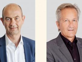 Roger Isler (links) ist neuer Geschäftsführer der Salto Systems AG in Eschlikon TG. Urs Keller tritt schrittweise in den Ruhestand, bleibt aber nach wie vor Delegierter des Verwaltungsrats.