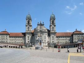 Klosterplatz Einsiedeln Kanton Schwyz