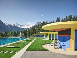 Schwimm- und Sonnenbad in Adelboden