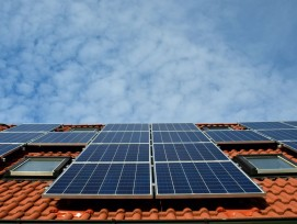 Solaranlage, Symbolbild.