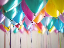 Ballons (Symbolbild)