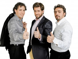 Pino, Franco und Roland Albanese (v. l. n.r.).