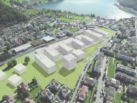Der Campus in Horw soll für 365 Millionen Franken ausgebaut werden.