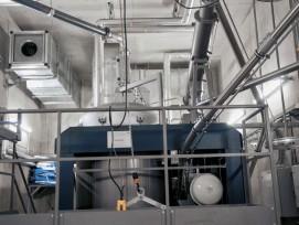 Strom und Wärme für 270 Haushalte: Die Holzvergasungsanlage der AEW Rheinfelden läuft seit dem Frühjahr 2018 absolut störungsfrei.