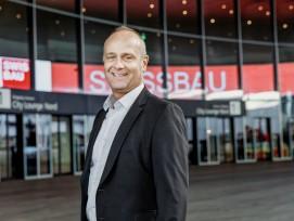 Er leitet seit 13 Jahren die Swissbau mit Herzblut: Rudolf Pfander.