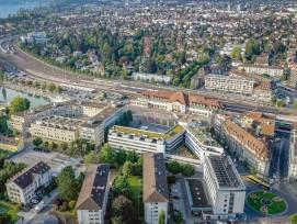 In den kommenden Jahren wird sich das Gebiet rund um den Thuner Bahnhof verändern.
