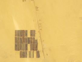 Benban-Solarpark aus dem Orbit