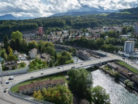 Spange Nord Luzern Reussbrücke