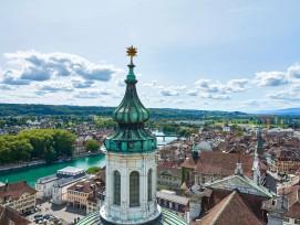 Der Kanton Solothurn (im Bild der Hauptort) ist nicht nur für Firmen, sondern auch für natürliche Personen ein teures Pflaster.