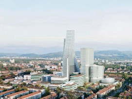 Visualisierung Roche-Bauten Basel