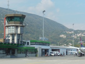 Vorfeld Tower FlughafenLugano-Agno