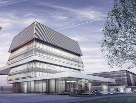 Visualisierung Business Aviation Center Dübendorf