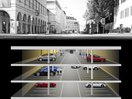 Visualisierung Kunstmuseum-Parking Basel