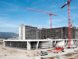 Baustelle Neubau Bürgerspital Solothurn