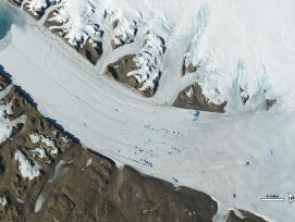Grönland Petermann-Gletscher