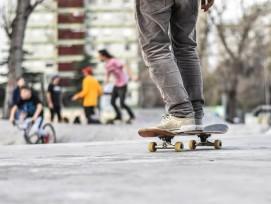 Skatepark, Symbolbild.