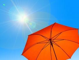 Sonnenschirm Symbolbild