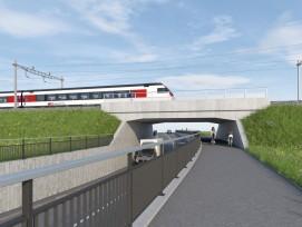 Ersatz SBB-Brücke Villmergen Wohlen