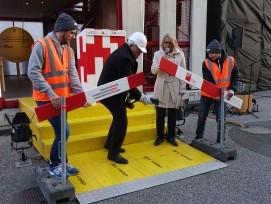Eröffnungs Swissbau 2020.