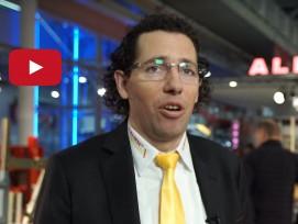 Pino Albanese an der Swissbau 2020