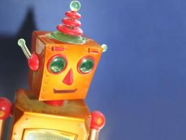 Spielzeugroboter (Symbolbild)