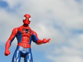 Spiderman-Spielzeug-Figur (Symbolbild)