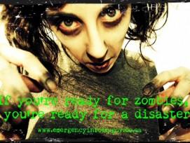 Wer gegen Zombies gewappnet ist, ist gegen jede Katastrophe gewappnet - das behaupten zumindest die Behörden von British Columbia in Südwestkanada.
