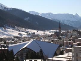 In Davos müsste mit der neuen Tourismusabgabe das eigene Finanzierungsmodell aufgegeben werden. (Bild: Abercio/Wikicommons)
