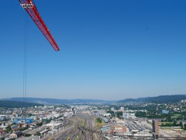 Raumplanung ist seit längerem ein Zankapfel - auch hier in Zürich-West. (Bild: Archiv)