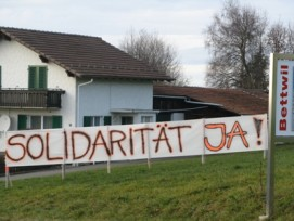 Solidarität Ja - aber mit wem? (Bild: zvg)