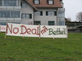 Ein Dorf probt den Widerstand: Die Einwohner von Bettwil AG wollen kein Asylzentrum und fühlen sich übergangen. (Bild: zvg)