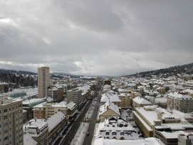Oft im Clinch mit der Kantonshauptstadt Neuenburg: Die Stadt La Chaux-de-Fonds. (Bild: Wikicommons)