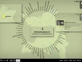 Viel zu Entdecken: Das Portal zeitraumaargau.ch