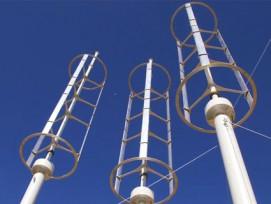Umstritten: Experten sind sich über den Wirkungsgrad von horizontalen Windturbinen nicht einig.