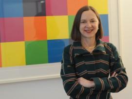 Barbara Schaerer will keine einheitsgraue, sondern eine farbenfrohe Bundesverwaltung. (Bild: Michael Staub)