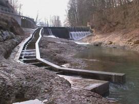 Bereits heute sind im Kanton Zürich etwa 100 Kleinwasserkraftwerke in Betrieb. (Im Bild: Anlage in Dietfurt SG)