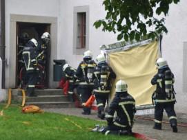 Vorbereitung ist wichtig: Einsatzübung des Kulturgüterschutzes im Kloster Wettingen AG (Bild: Marcel Müller)