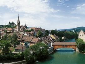 Hier lässt es sich gut leben: Der Kanton Aargau ist laut einer neuen Studie der beliebteste Wohnkanton. In der Region Baden (im Bild) sind die Preise aber stark gestiegen.