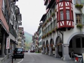 Aussterben stoppen: Die Gemeinde Lichtensteig hat erfolgreich Masssnahmen zur Wiederbelebung des Stadtkerns getroffen.
