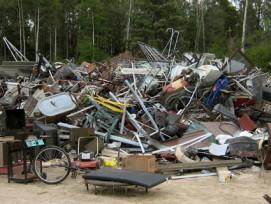 Mülldeponien, hier im US-Bunsesstaat Minnesota, gehörten früher auch in der Schweiz zum Landschaftsbild.