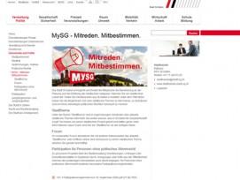 Die Stadt St. Gallen erweitert die Funktionalität ihrer Website mit der Community-Funktion «MySG».