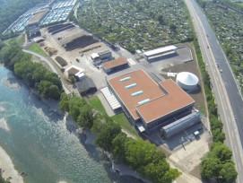 Über 25'000 Tonnen Bioabfall kann das neue Vergärwerk pro Jahr verarbeiten.