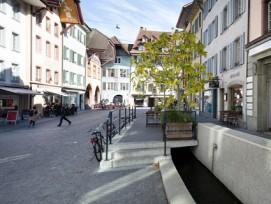 Aarau erhält den Wakkerpreis für seine «kompakte Altstadt»...