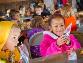 Kinder am spielen: Gehen sie bald in eine bewilligte und von den Gemeinden subventionierte Spielgruppe?